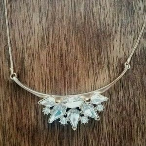 Banana Republic Small Statement Crystal Necklace